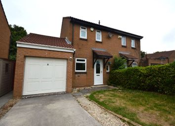 Thumbnail 2 bedroom semi-detached house to rent in Jenkins Close, Plymouth
