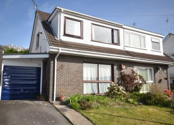 Thumbnail 3 bed semi-detached bungalow for sale in Bryncastell, Bow Street