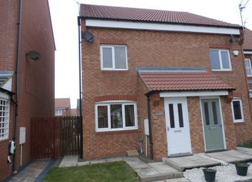 Thumbnail 3 bed semi-detached house for sale in Montgomerie Court, Ashington