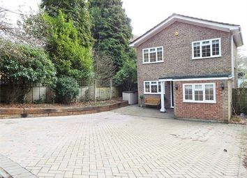 Thumbnail 4 bed detached house for sale in Woodlands Walk, Blackwater, Camberley, Hampshire