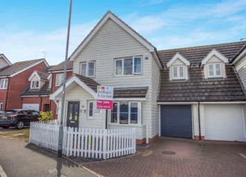 Thumbnail 3 bed link-detached house for sale in Williamsburg Avenue, Dovercourt, Harwich