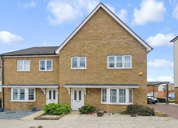 Thumbnail 4 bed semi-detached house for sale in Flora Way, Hoo, Kent