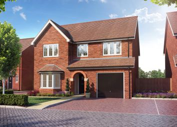 Thumbnail 4 bed detached house for sale in Main Street, Grendon Underwood, Aylesbury