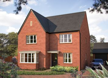 "Thumbnail 4 bed detached house for sale in ""The Oxford"" at Larbourne Park Road, Flore, Northampton"