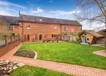 Thumbnail 4 bed barn conversion for sale in Eaton Grange Barns, Eaton Upon Tern, Market Drayton