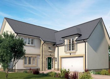 "Thumbnail 5 bed detached house for sale in ""The Melville"" at Queens Drive, Cumbernauld, Glasgow"