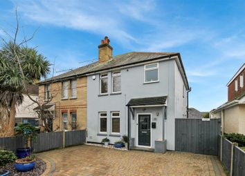 Thumbnail 3 bed semi-detached house for sale in St. Clements Road, Parkstone, Poole