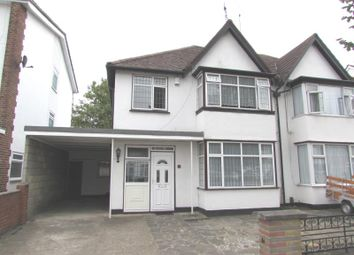 Thumbnail 3 bed semi-detached house to rent in Scarle Road, Wembley, Middlesex