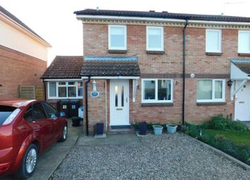 Thumbnail 3 bed semi-detached house for sale in Burton Drive, Needham Market, Ipswich