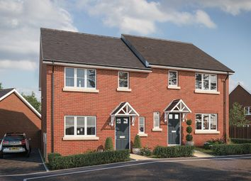 "Thumbnail 3 bed property for sale in ""The Hartley"" at Buckingham Road, Steeple Claydon, Buckingham"