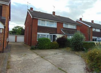 Thumbnail 3 bedroom semi-detached house to rent in Vauxhall Drive, Woodley, Reading, Berkshire