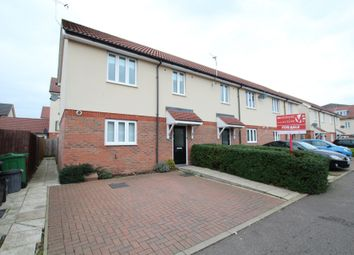 Thumbnail 2 bed end terrace house to rent in Sorbus Road, Broxbourne