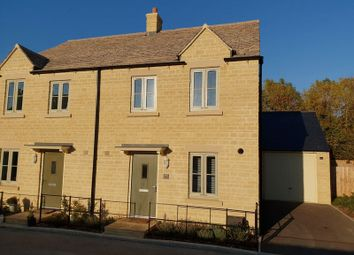 Thumbnail 3 bed semi-detached house for sale in Gardner Way, Cirencester