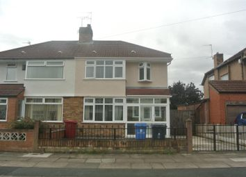 Thumbnail 3 bed semi-detached house for sale in Gladstone Avenue, Broadgreen, Liverpool