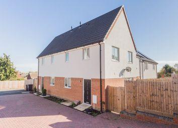 Thumbnail 2 bed semi-detached house to rent in Walker Rise, Irthlingborough, Wellingborough