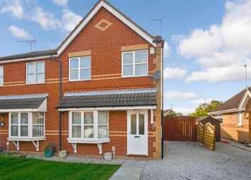 Thumbnail 3 bed semi-detached house to rent in Sleightholme Close, Kingswood, Hull