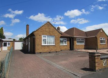 Thumbnail 2 bed detached bungalow for sale in Southdown Drive, Thurmaston, Leicester