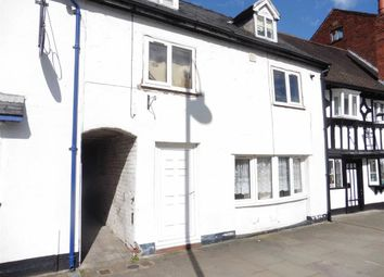 Thumbnail 1 bed flat to rent in Ground Floor Flat, 26, High Street, Welshpool, Welshpool, Powys