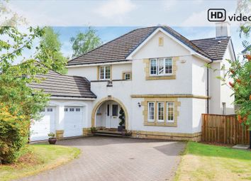 Thumbnail 5 bedroom detached house for sale in Fernie Gardens, Cardross, Dumbarton