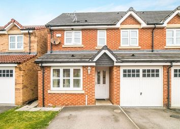 Thumbnail 3 bed semi-detached house for sale in The Brambles, New Hartley, Whitley Bay