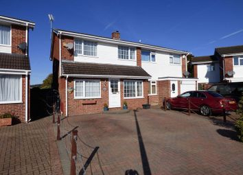 Thumbnail 4 bed semi-detached house for sale in Gannet Road, Worle, Weston-Super-Mare