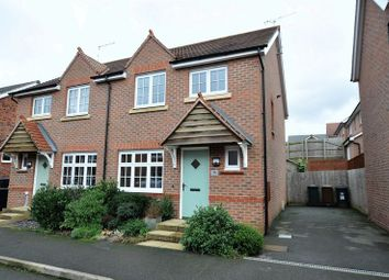 Thumbnail 3 bed semi-detached house for sale in Newman Drive, Church Gresley, Swadlincote