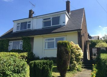 Thumbnail 3 bed semi-detached bungalow to rent in Uplands Road, Glossop