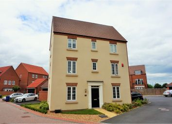 Thumbnail 4 bed detached house for sale in Buttermere Crescent, Lakeside, Doncaster