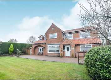 Thumbnail 4 bed detached house for sale in Towthorpe Road, Haxby, York