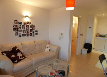 Thumbnail 1 bed flat to rent in Tempus Tower, 9 Mirabel Street, Manchester