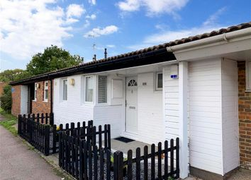 Thumbnail 1 bed terraced bungalow for sale in Plumleys, Pitsea, Basildon, Essex