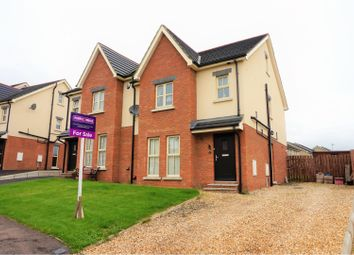 Thumbnail 3 bed semi-detached house for sale in Lindara Crescent, Larne