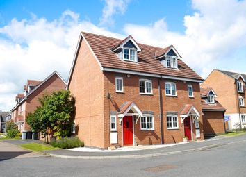 Thumbnail 3 bed town house to rent in Pickering Way, Stapeley, Nantwich