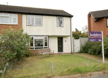 Thumbnail 3 bed semi-detached house for sale in Rectory Lane, Byfleet, Surrey