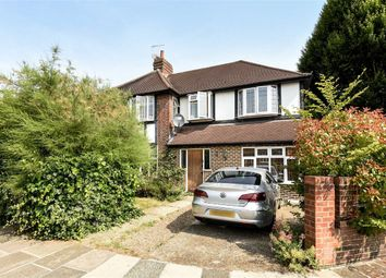 Thumbnail 4 bed semi-detached house to rent in Redway Drive, Whitton, Twickenham