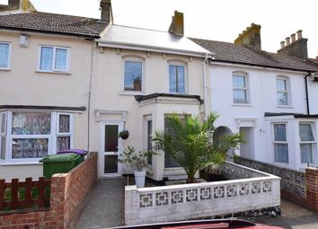 Thumbnail 3 bed terraced house for sale in Denmark Street, Folkestone, Kent