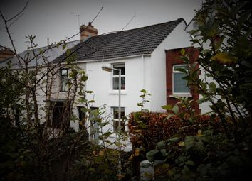 Thumbnail 2 bed end terrace house for sale in Castle Road, Mumbles, Swansea