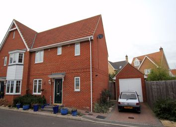 Thumbnail 3 bed semi-detached house to rent in Acacia Drive, Dunmow, Essex