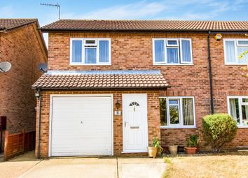 Thumbnail 3 bed semi-detached house for sale in Rosewood Drive, Sleaford