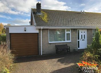 Thumbnail 2 bed semi-detached bungalow for sale in Mill Lane, Haltwhistle, Northumberland