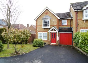 Thumbnail End terrace house for sale in Redwing Road, Basingstoke