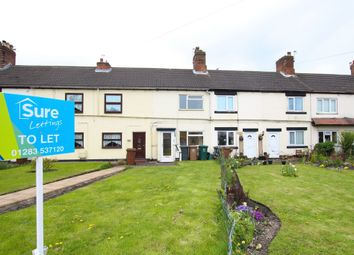 Thumbnail 2 bed terraced house for sale in High Street, Woodville, Swadlincote, Derbyshire