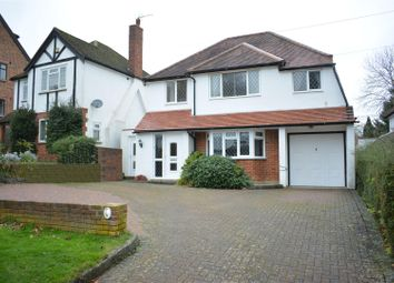 Thumbnail 4 bed detached house for sale in Barons Hurst, Epsom