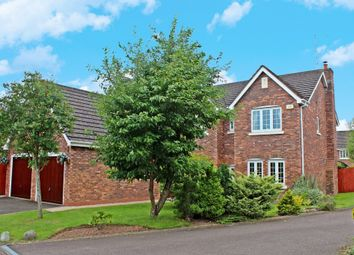 Thumbnail 5 bed detached house for sale in Sandringham Close, Westwood Heath, Coventry