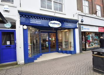 Thumbnail Retail premises to let in 25 High Street, Christchurch