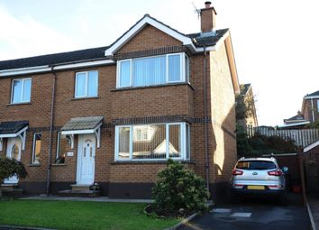 Thumbnail 3 bedroom semi-detached house for sale in Dunlady Manor, Dundonald, Belfast