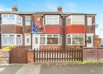 Thumbnail 2 bed terraced house for sale in Lamorna Avenue, Hull