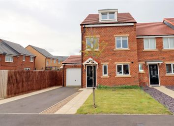 3 bed terraced house for sale in Bradford Drive, Bracks Farm, Bishop Auckland DL14