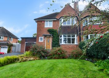 Thumbnail 3 bed semi-detached house for sale in Knighton Road, Bournville Village Trust, Birmingham