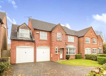 Thumbnail 5 bedroom detached house for sale in Achilles Close, Heathcote, Warwick